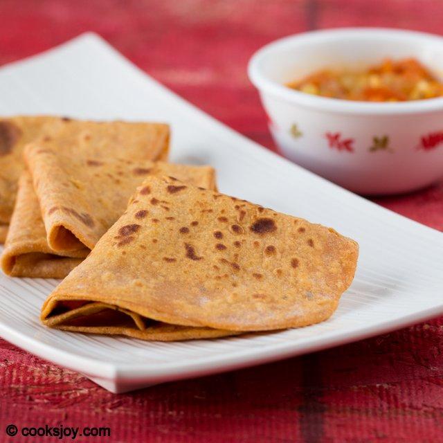 Sweet Potato Paratha | Cooks Joy