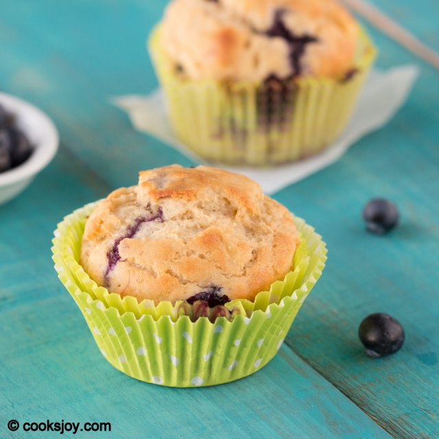 Banana Blueberry Muffin | Cooks Joy