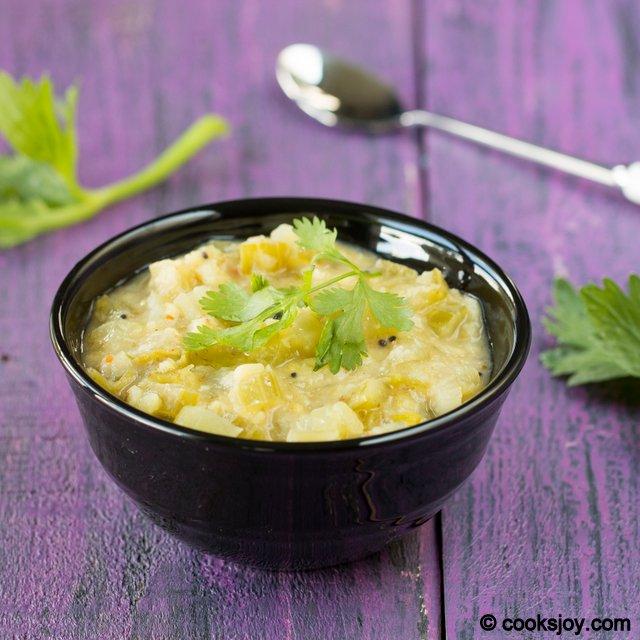 Celery Kootu | Cooks Joy