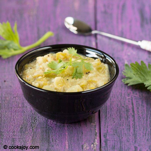 Celery Dal | Cooks Joy