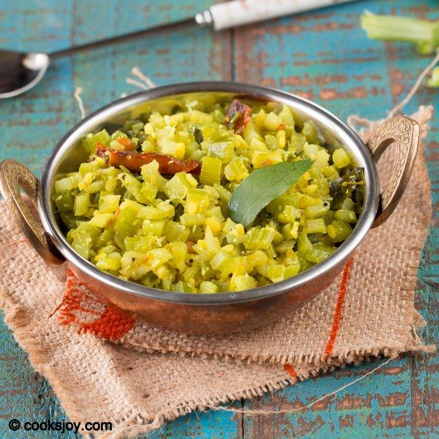 Celery Poriyal | Cooks Joy