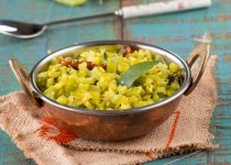Celery Poriyal (Celery Lentil Fry)