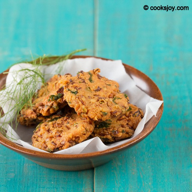 Fennel Cabbage Fritters | Cooks Joy
