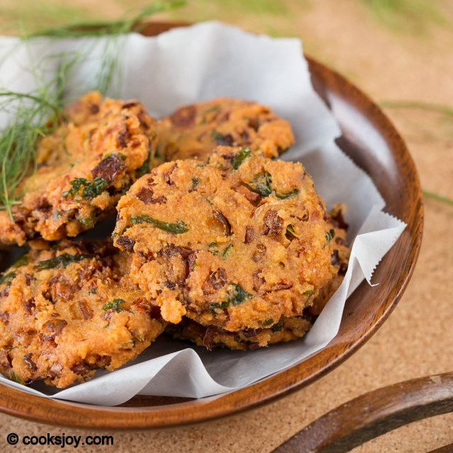 Fennel Cabbage Vadai (Indian) | Cooks Joy