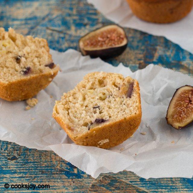 Fig Banana Muffins | Cooks Joy