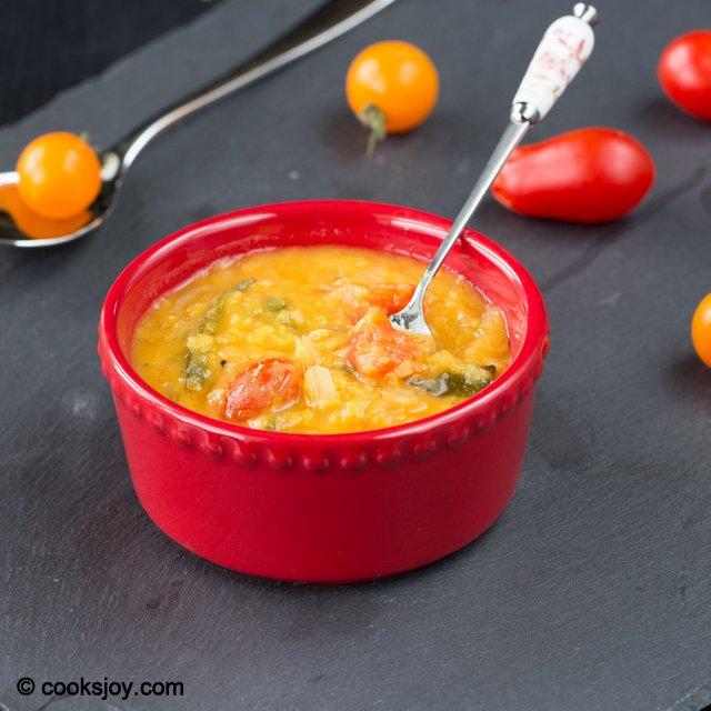 Cherry Tomato Dal | Cooks Joy