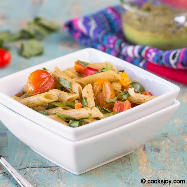 Basil Pesto Pasta | Cooks Joy