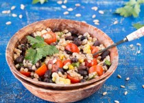Farro Black Bean Salad