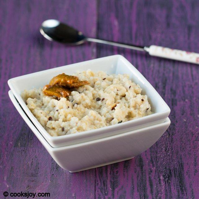 Broken Wheat Rava Pongal | Cooks Joy