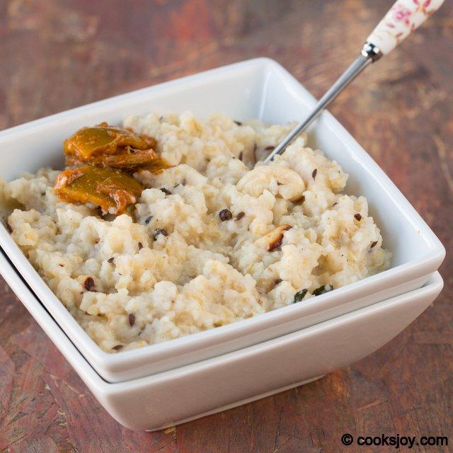 Wheat Rava Pongal | Cooks Joy