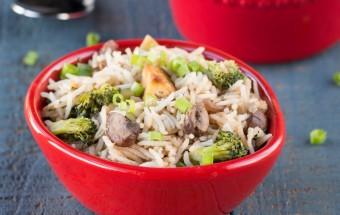 Mushroom Tofu Rice | Cooks Joy