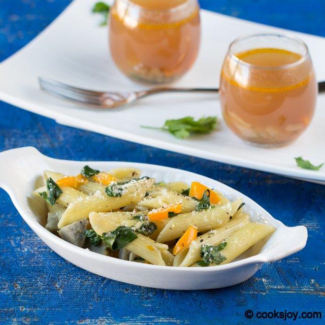 Artichoke Spinach Pasta | Cooks Joy