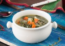 Potato Kale Lentil Soup