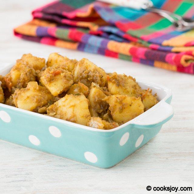 Spicy Potato Fry   Cooks Joy