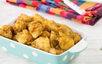 Potato Ginger Fry | Cooks Joy