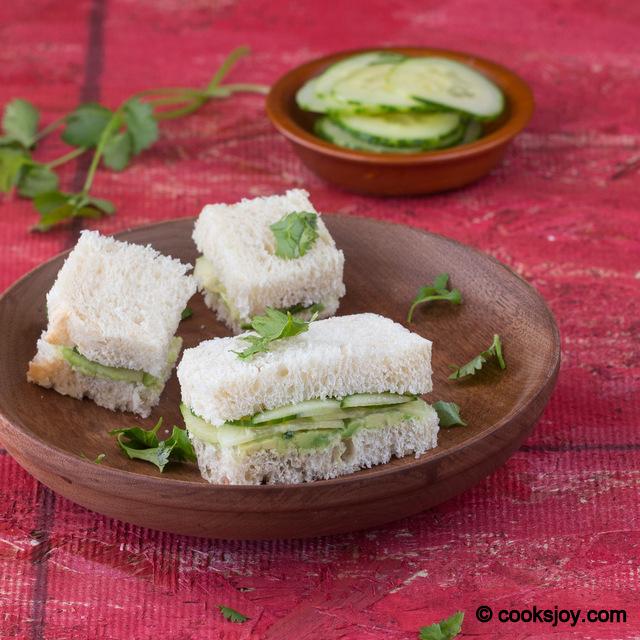 Cucumber Avocado Sandwich | Cooks Joy