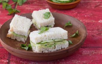 Avocado Cucumber Sandwich | Cooks Joy