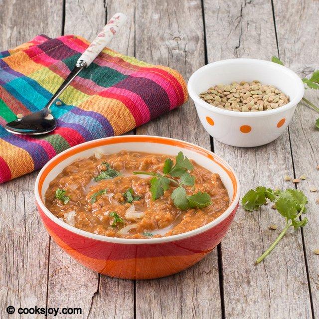 Slow Cooker Lentil Makhani | Cooks Joy