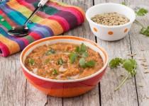 Slow Cooker Lentil Makhani