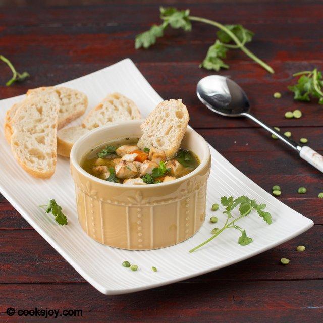 Vegetarian Split Pea Soup | Cooks Joy