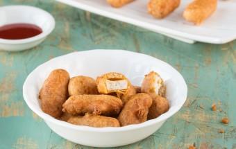 Baked Tofu Bajji | Cooks Joy