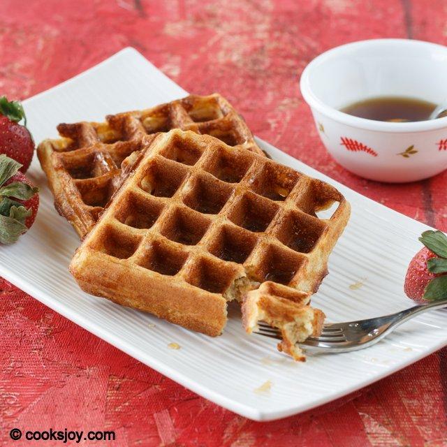 Sourdough Kefir Waffles | Cooks Joy