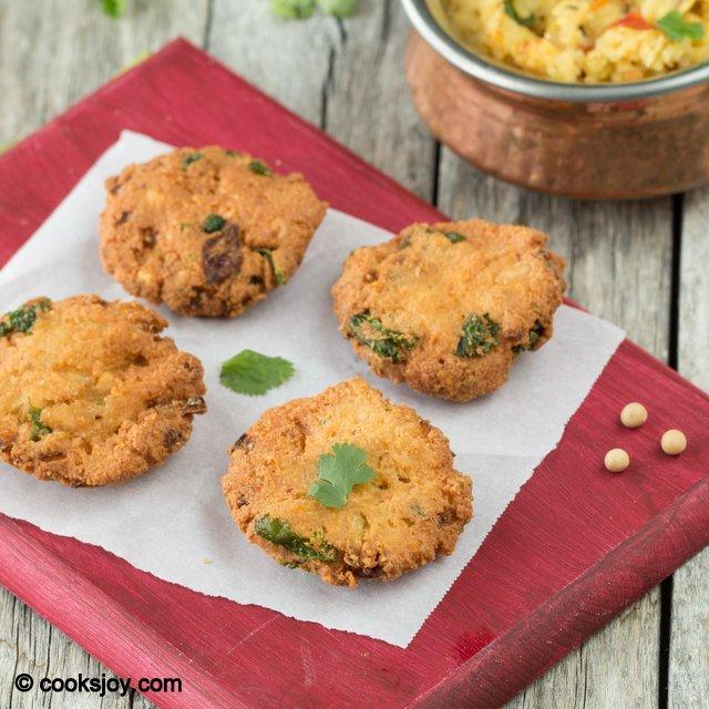 Soya Bean Masala Vadai | Cooks Joy