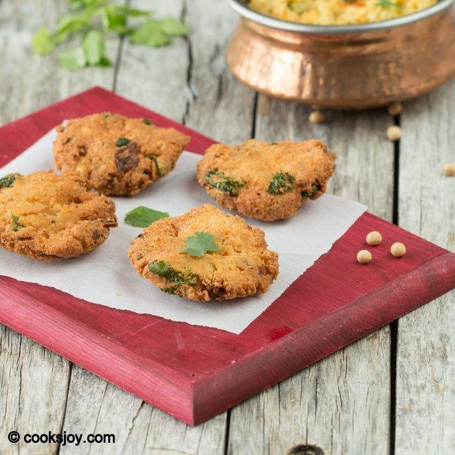 Soy Bean Masala Vadai | Cooks Joy