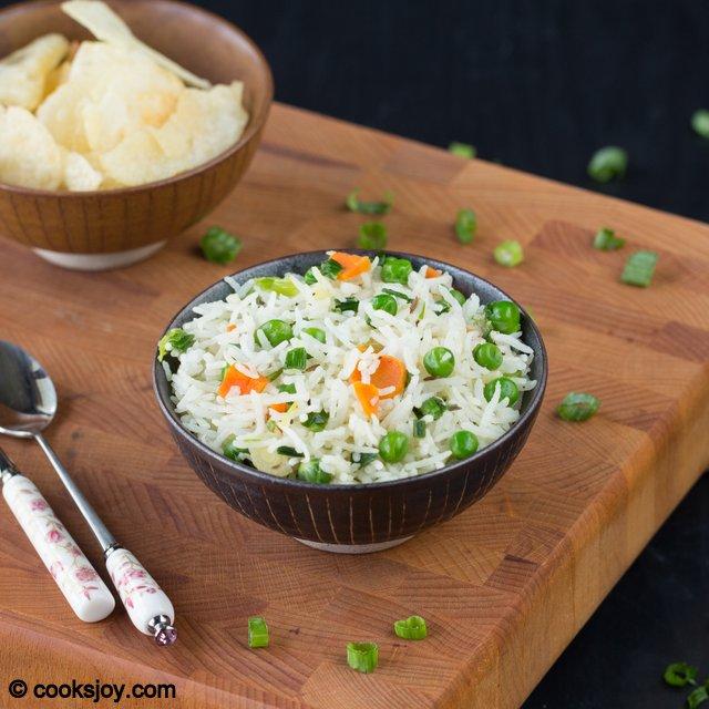 Spring Onion Pulao | Cooks Joy