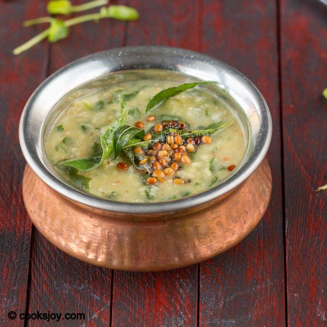Watercress Greens Kootu | Cooks Joy