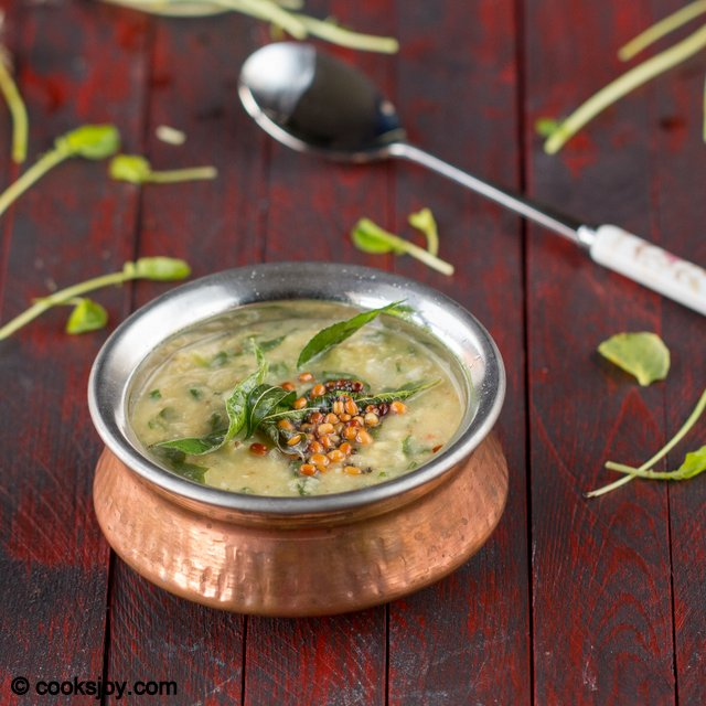 Watercress Keerai Kootu | Cooks Joy