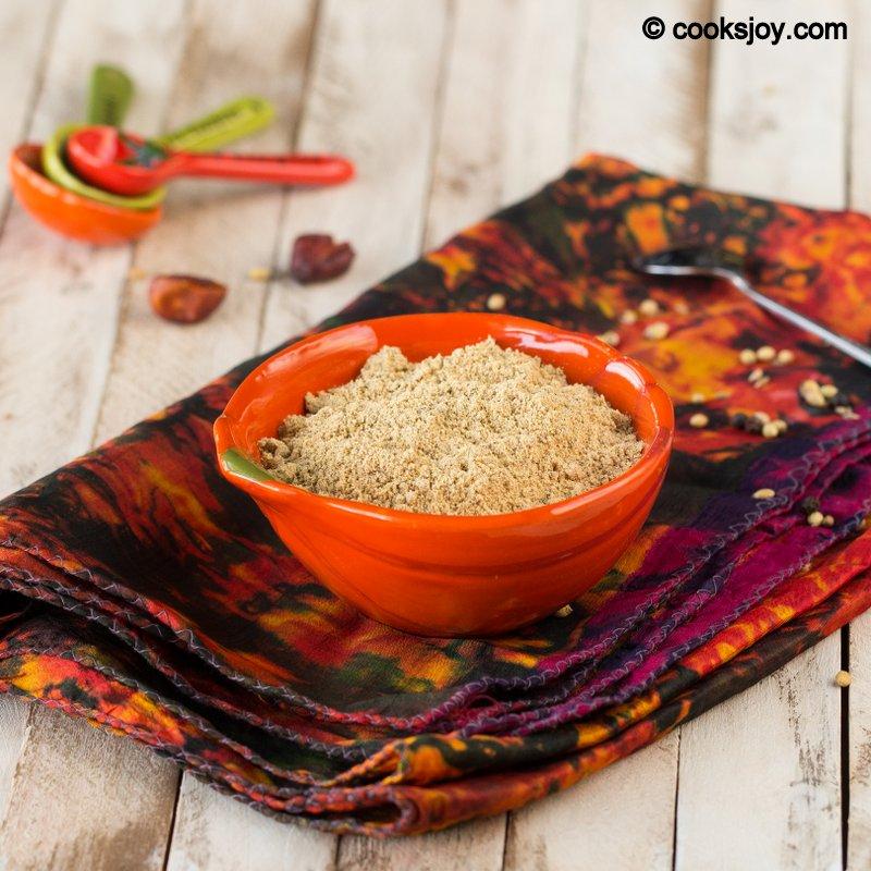 Cooks JoyInstant Sambar Powder (Just add to hot water)
