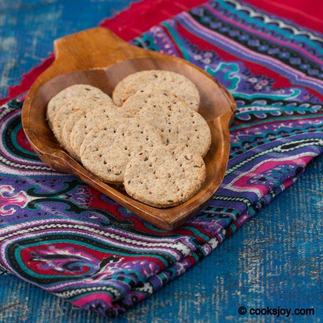 Rye Crackers (Caraway Seeds) | Cooks Joy