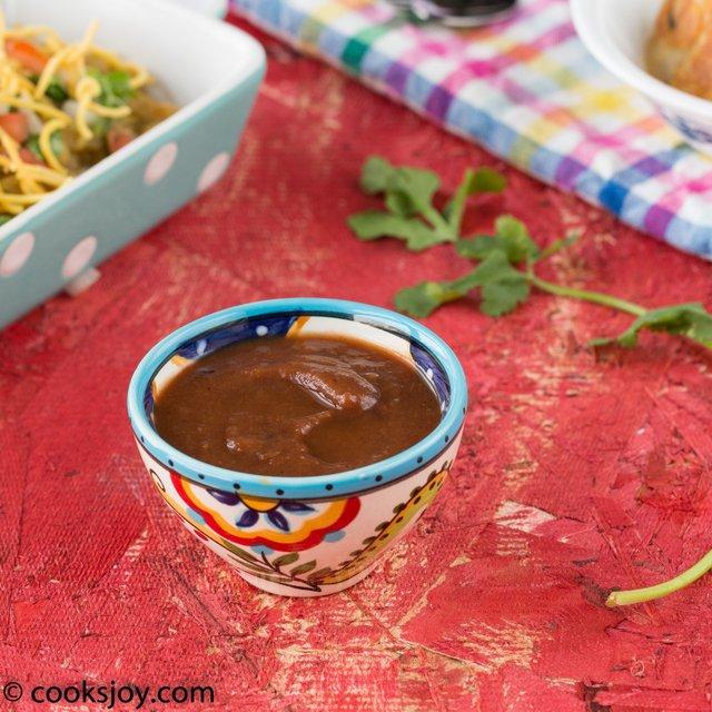 Tamarind Dates Chutney | Cooks Joy