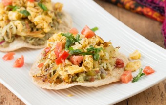 Breakfast Tostada | Cooks Joy