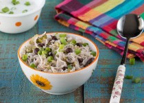 Celery Black Bean Rice