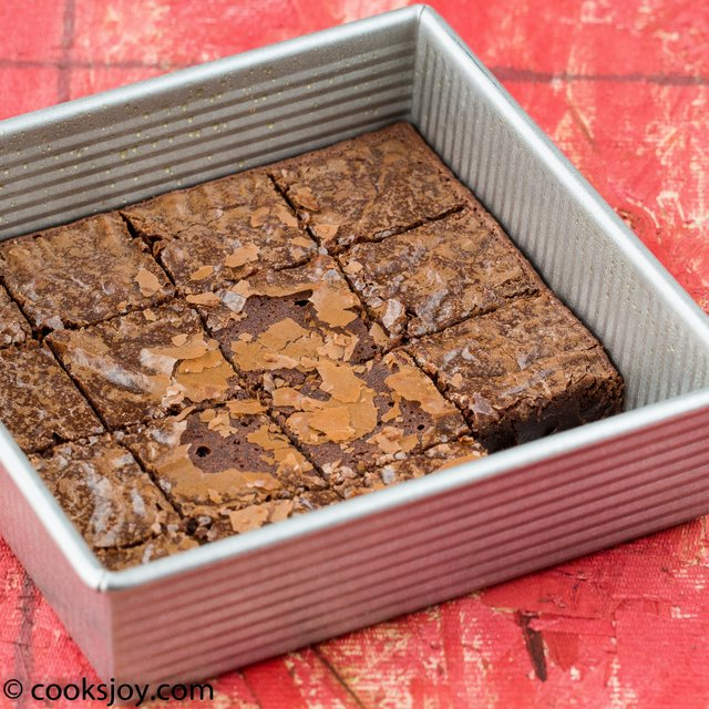 Best Cocoa Brownies | Cooks Joy