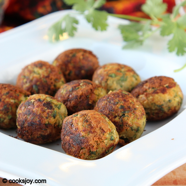 Print Recipe Healthy Zucchini Falafel Cooks Joy